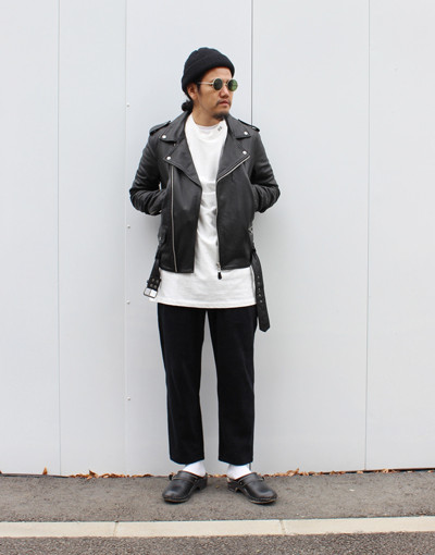 LOATHING BIKER(KSUBI) x TF Change cloth pant(THING FABRICS)