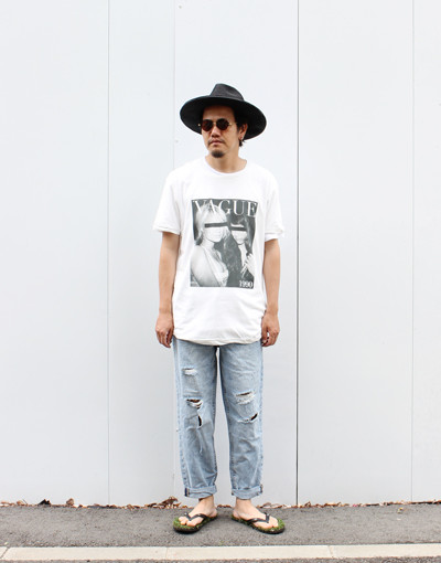 VAGUE TEE x BULLET(Ksubi)