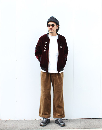 SUKA JACKET (Varde77) x 2TAC CORDUROY PANTS WIDE (REVIVAL 90% PRODUCTS Varde77)