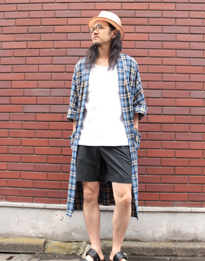 R.S Gown  x Marka Shorts