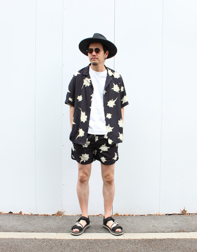SEDATIVE SS SHIRT x SEDATIVE BOARDSHORT(Ksubi)